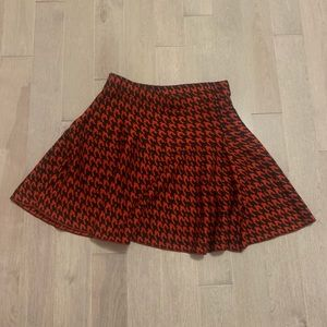 Cute Red and Black Skirt!
